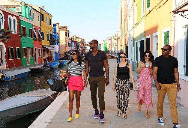 Grup de turisti